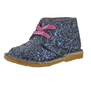 New Cole Haan glitter Chukka Boots 6 nwot